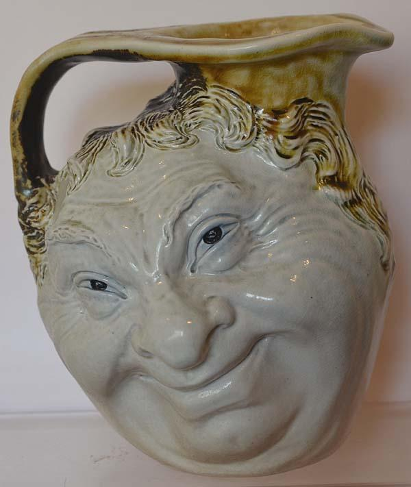 MARTIN BROTHERS DOUBLE FACE JUG.